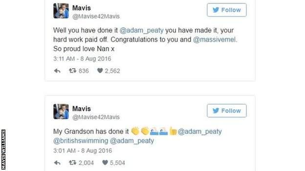 Mavis Williams' tweets.