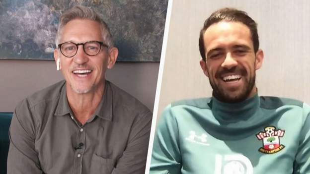 Southampton v Man City: Gary Lineker calls out Danny Ings for Golden Boot answer - bbc