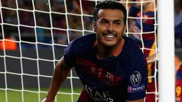 Man Utd Boss Louis Van Gaal Quizzed Over Barcelona's Pedro