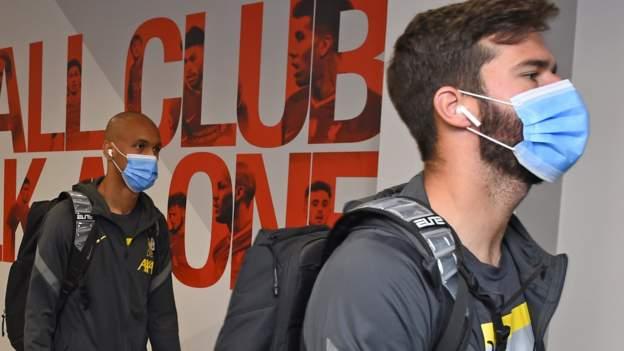 Alisson  Fabinho to quarantine in Spain
