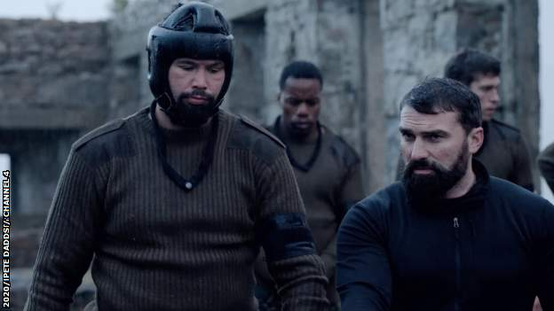 Tony Bellew and Ant Middleton in SAS Who Dares Wins