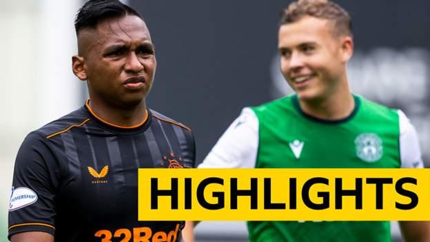 Highlights: Hibernian 2-2 Rangers - bbc