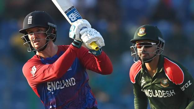 T20 World Cup: England thrash Bangladesh for second win in Super 12s