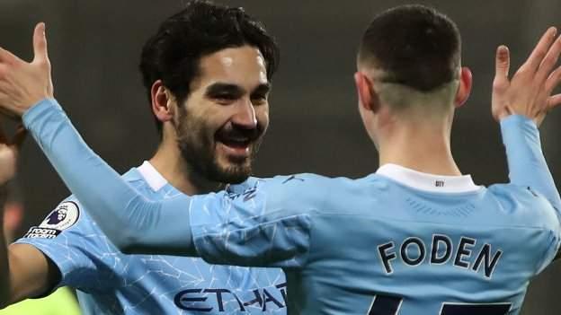 West Bromwich Albion 0-5 Manchester City - bbc