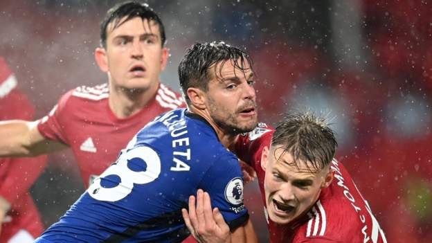 Manchester United 0-0 Chelsea: Hosts still searching for first home win this season - bbc