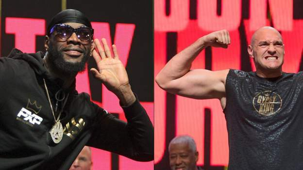 Wilder v Fury II weigh-in: 'The atmosphere & buzz is phenomenal' thumbnail
