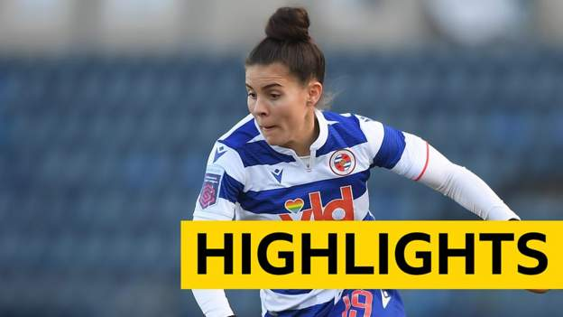 WSL: Reading Women 2-0 West Ham United Women thumbnail