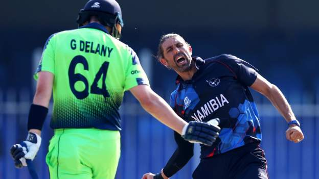 Namibia through to Super 12s at T20 World Cup