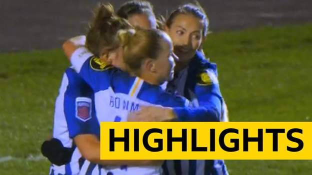 WSL: Brighton 1-1 Man Utd highlights thumbnail
