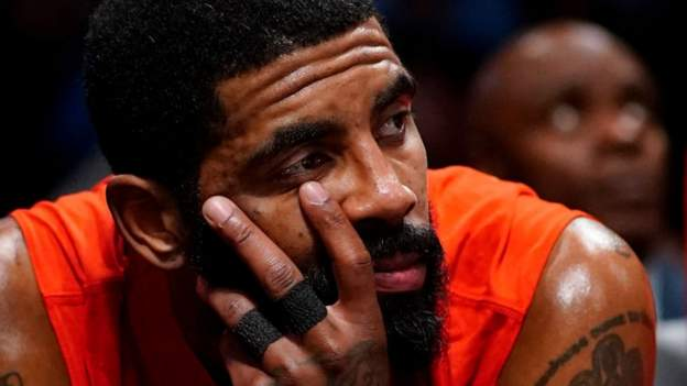 NBA and Covid-19 vaccinations: All-Star Kyrie Irving at centre of debate over whether to be vaccinated