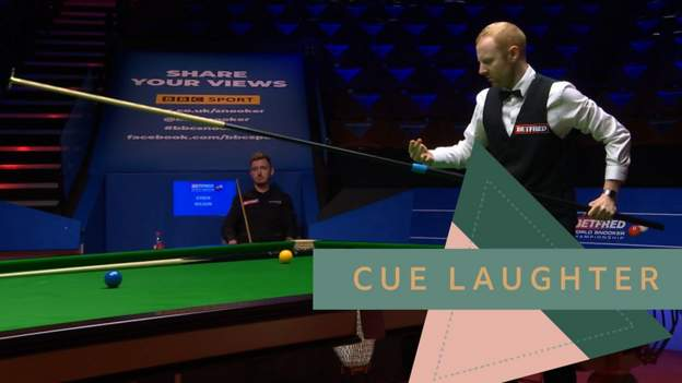 'He's exhausted after that' - The one with Anthony McGill and the really long snooker cue