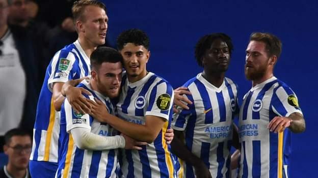 Brighton & Hove Albion 2-0 Swansea City: Aaron Connolly double sends Seagulls through