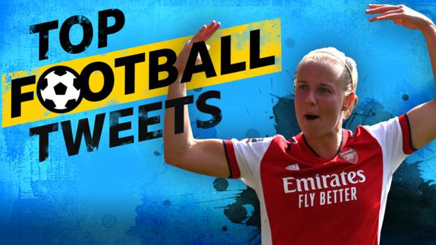 Top Football Tweets: Beth Mead firing for the Gunners