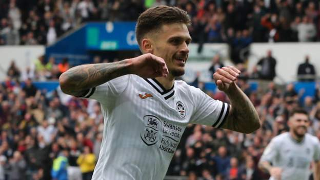 Swansea City 3-0 Cardiff City: Jamie Paterson inspires Swans to pile pressure on McCarthy