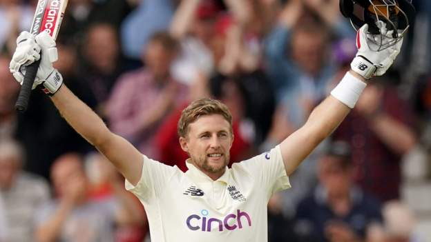 England v India: Joe Root makes superb century at Trent Bridge