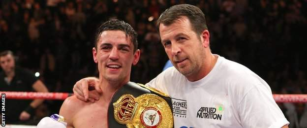 Anthony Crolla and Joe Gallagher