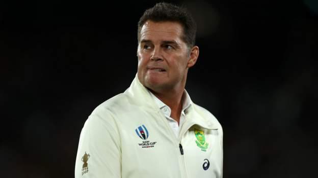 British and Irish Lions 2021: Rassie Erasmus says there is 'no threat' to Tests