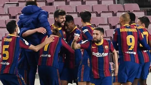 Barca beat Sevilla in dramatic cup tie