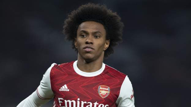 Willian apologises to fans after Arsenal exit