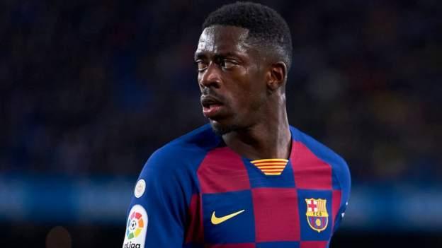 Transfer rumours: Dembele, Sancho, Alli, Aarons, Lingard, Milik - bbc