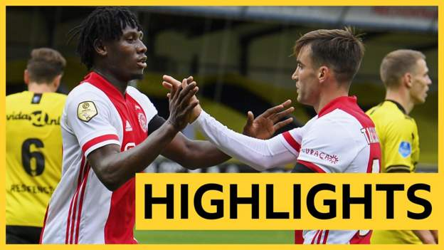VVV-Venlo 0-13 Ajax: Watch all the goals as Ajax set new Eredivise record - bbc