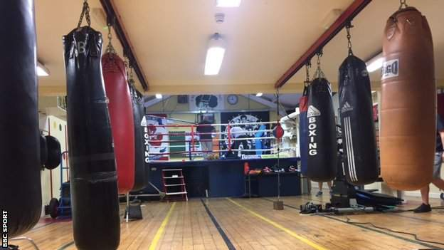 McGregor stumbled into Crumlin Boxing Club aged 12 after playing football next door