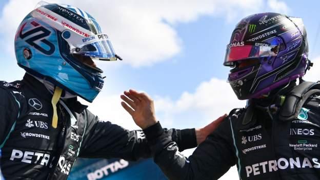 Portuguese Grand Prix: Valtteri Bottas takes pole position