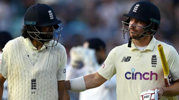 England v India: Rory Burns and Haseeb Hameed set up thrilling final day