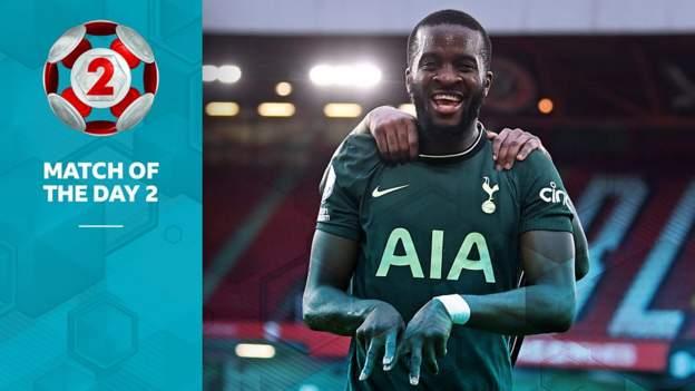 Tanguy Ndombele: Tottenham midfielder stars with goal against Sheffield United - bbc