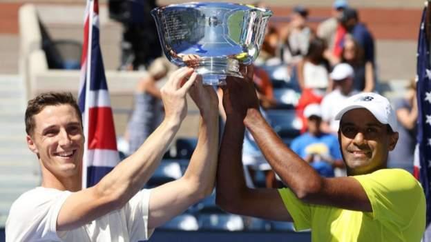US Open 2021: Salisbury & Ram beat Murray & Soares to win men's doubles title