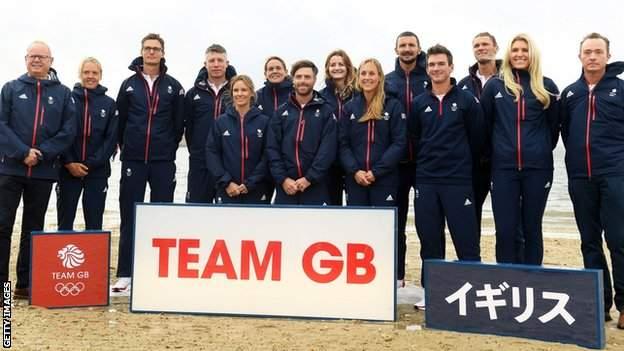 British Sailing Tokyo 2020 squad
