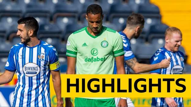 Kilmarnock and Celtic share the spoils at Rugby Park in the Scottish Premiership - bbc