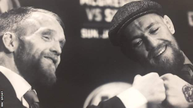 Paddy Holohan and Conor McGregor