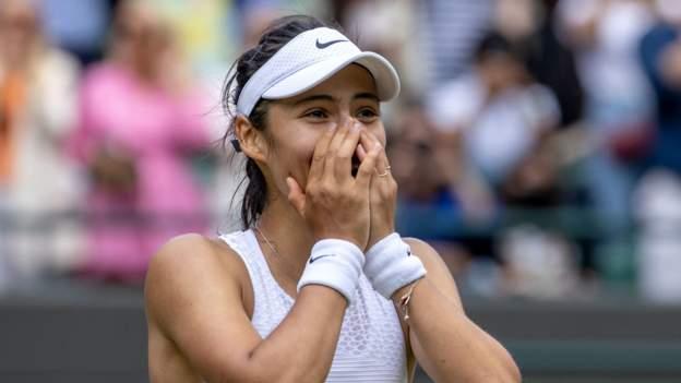 Wimbledon 2021: Emma Raducanu relishing first Grand Slam as she prepares for fourth round