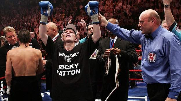 Hatton became a world champion after eights years as a professional
