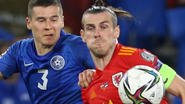 Wales 0-0 Estonia: Wales dealt severe blow in bid to qualify for 2022 World Cup