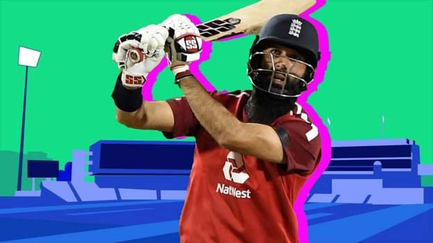England v Pakistan T20: Moeen Ali smashes three sixes off four balls thumbnail
