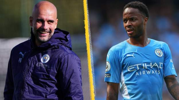 Raheem Sterling: Pep Guardiola says he 'can't assure' England forward of more game time