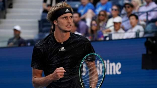 US Open 2021: Alexander Zverev moves into semi-finals