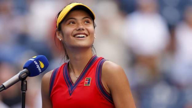 US Open: Emma Raducanu set for Belinda Bencic quarter-final in New York