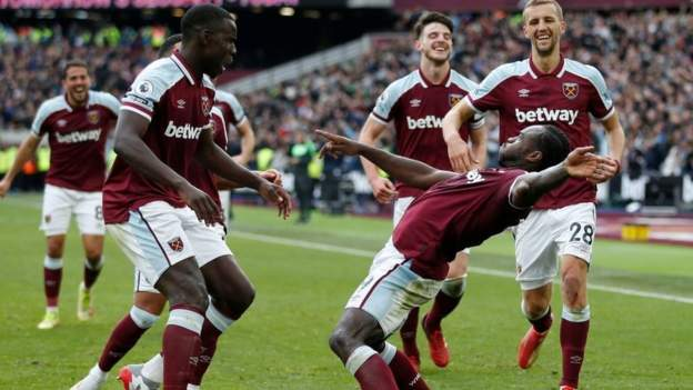 West Ham United 1-0 Tottenham Hotspur: Michail Antonio grabs winner for Hammers