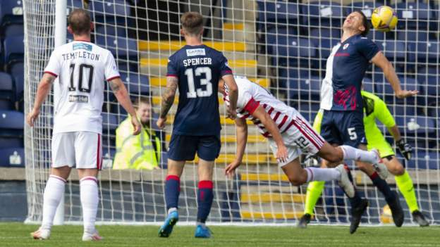 Raith Rovers 4-4 Hamilton Academical: Accies fight back from 4-0 down