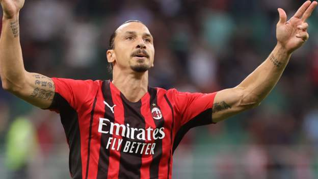 AC Milan 2-0 Lazio: Zlatan Ibrahimovic scores on return from injury - BBC Sport