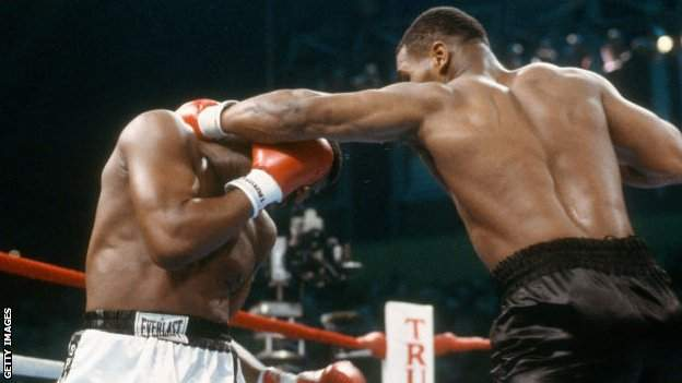 coronavirus stock Tyson moved on to 35 wins from 35 fights by beating Spinks