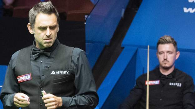 World Snooker Championship 2020 final: Ronnie O'Sullivan leads Kyren Wilson