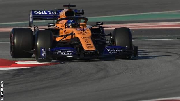 Carlos Sainz of McLaren