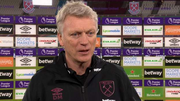 West Ham United 2-1 West Bromwich Albion: David Moyes 'disappointed' by Hammers performance despite victory