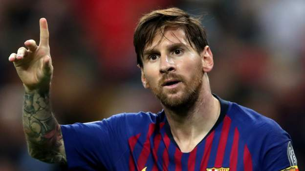 Messi's £492m Barca contract leaked