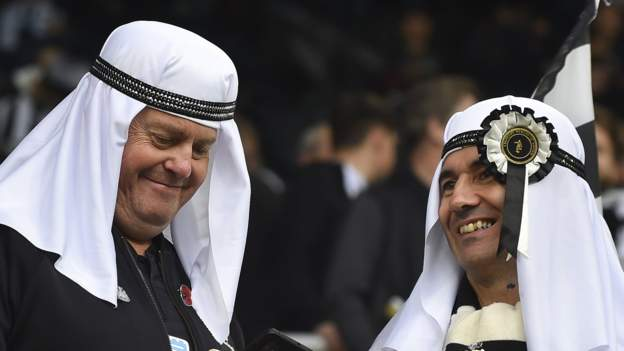 Newcastle United owners ask fans not to wear traditional Arabic clothing at games