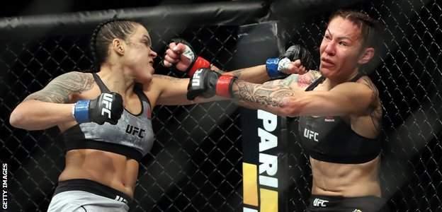Amanda Nunes beats Cris Cyborg in December 2018